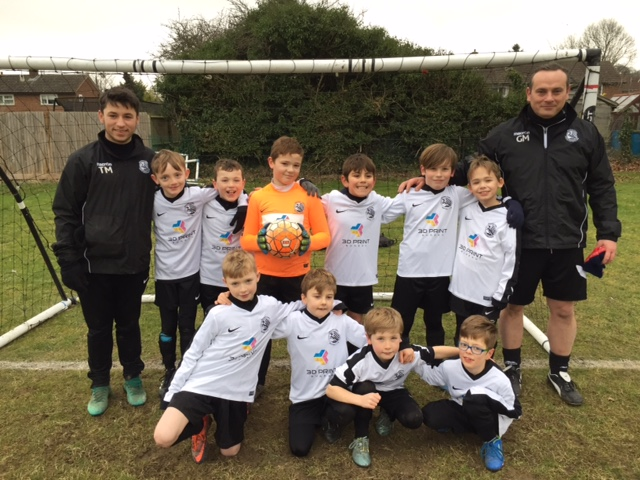 The Under 10 Eagles.